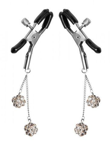 Зажимы на соски с подвесками Ornament Adjustable Nipple Clamps