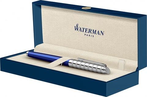 Ручка-роллер Waterman Hemisphere French riviera Deluxe BLU LOUNGE RB в подарочной коробке123