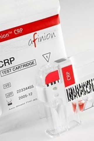Набор для определения С-реактивного белка в сыворотке, плазме или цельной крови (Afinion CRR), 15 тестов