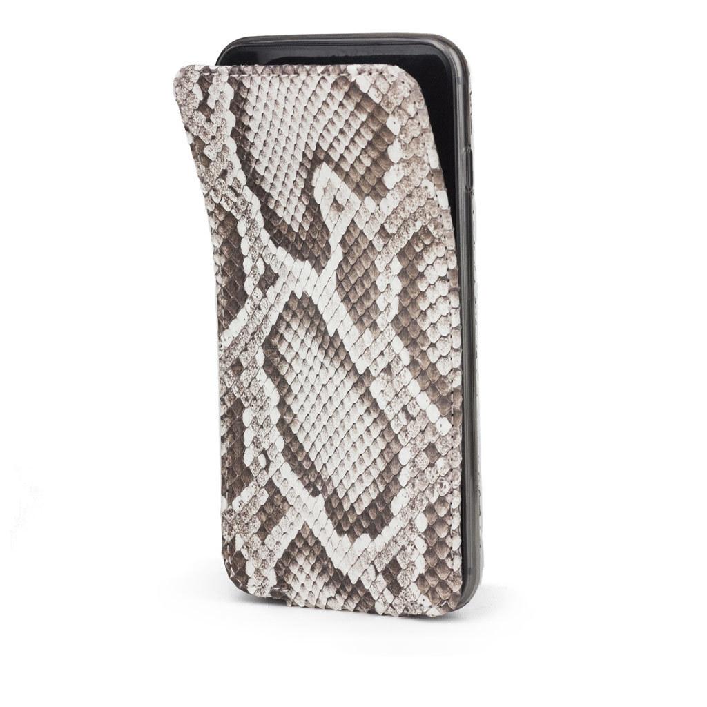 Чехол для iPhone 6/6S Plus из натуральной кожи питона, цвета Natur