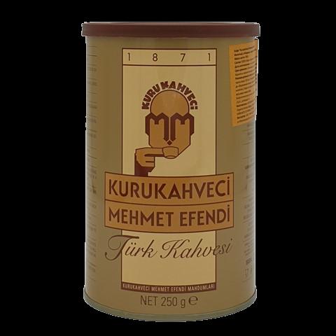 Турецкий кофе молотый KURUKAHVECI MEHMET EFENDI, 250 гр