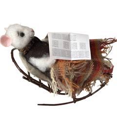Игрушка «Мышь в кресле»