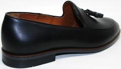 Черные туфли мужские Ikoc 010-1