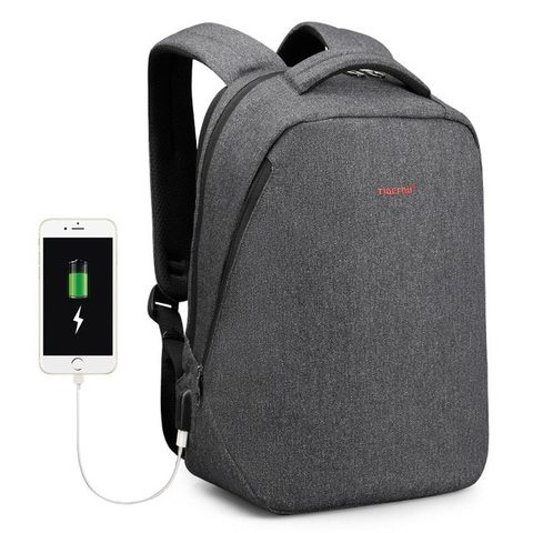 Картинка рюкзак для ноутбука Tigernu T-B3164 Серый - 2