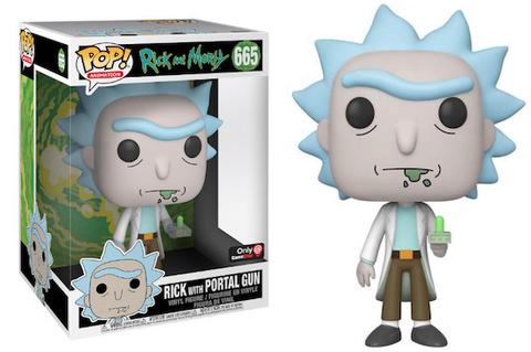 Giant Size Rick Special Edition Funko Pop! || Огромный Рик с Портальной пушкой. Рик и Морти