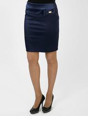 5717 юбка синяя