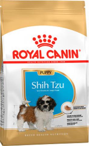 Royal Canin Shih Tzu Puppy сухой корм для щенков ши-тцу до 10 месяцев