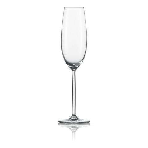 Набор фужеров для шампанского 220 мл, 6 шт, Diva