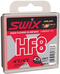 Парафин высокофтористый Swix HF08X-4 Red +4C/-4C 40гр
