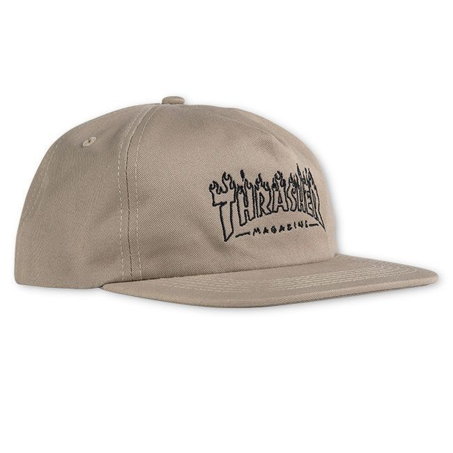 Кепка THRASHER Witch Snapback (Tan)
