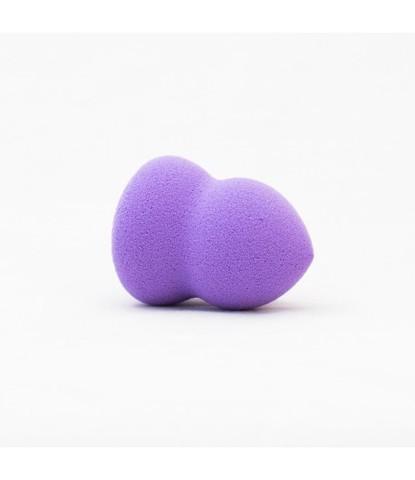 Бьюти спонж маленький ребристый фиолетовый