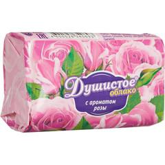 Мыло туалетное Душистое облако С ароматом розы 90 г