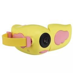 Детская Видеокамера (экшн-камера) HD жёлтая