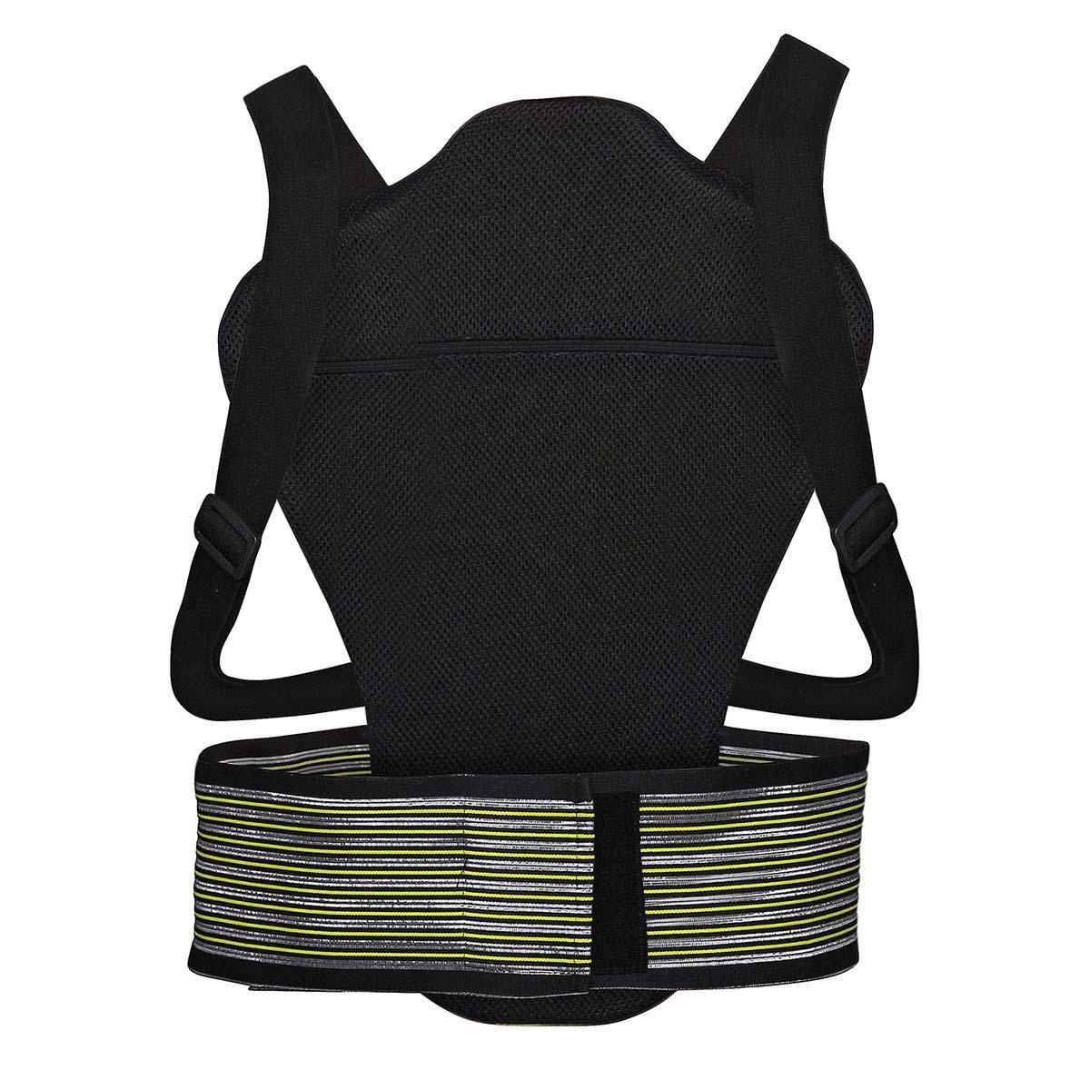 IXS BACK PROTECTOR RS-10 black/green