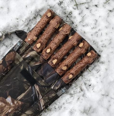 """Набор шампуров Пенёк в чехле """"Лес"""""""