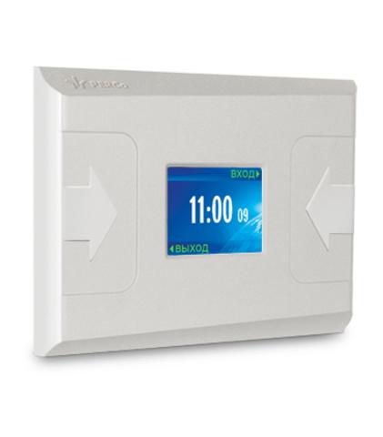 CR01.2 Контроллер регистрации с двумя встроенными считывателями PERCo
