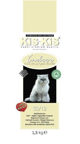 KiS-KiS Indoor Для домашних кошек всех пород 1,5 кг.