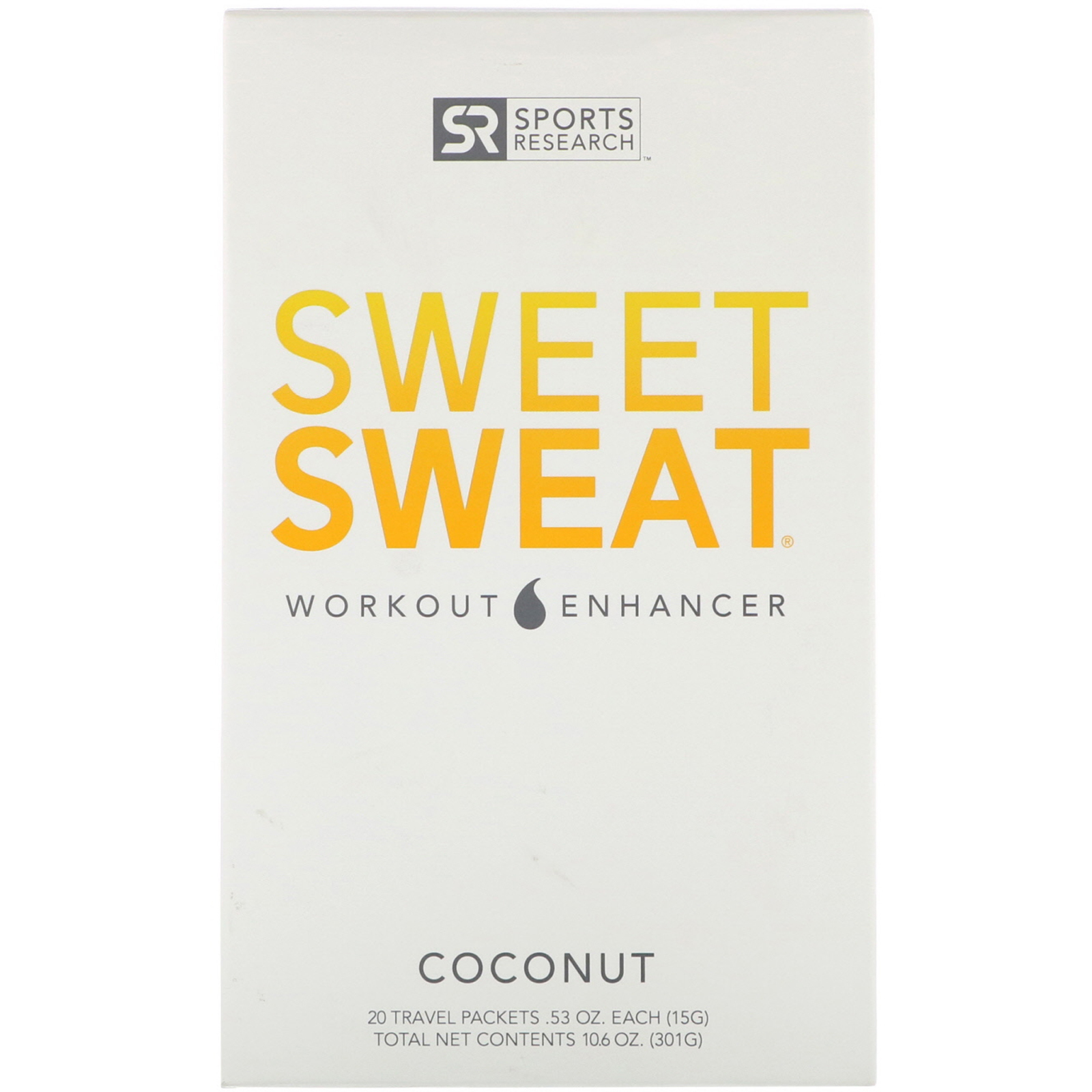 Sweet Sweаt  Coconut Packet Box, 300 гр.
