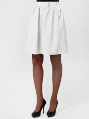5413-2 юбка белая