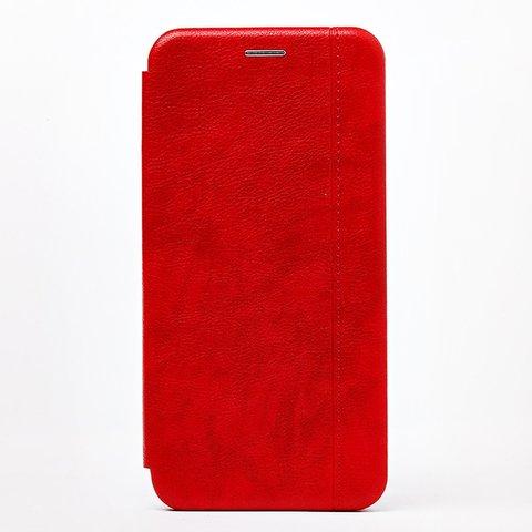 Чехол книжка для Huawei Honor 20/20S/Nova 5T | магнит подставка красный