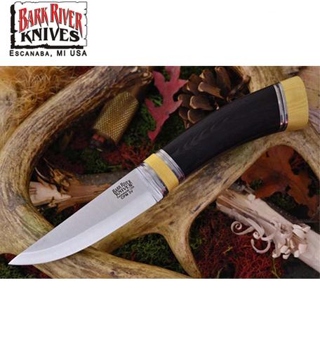 Нож Bark River модель Scandi Black Canvas Mic. Ivory sp.