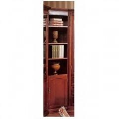 Шкаф книжный угловой C05 Корнер (Corner MK-1736-DN) Темный орех