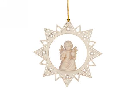 Ангел с круглой свечой