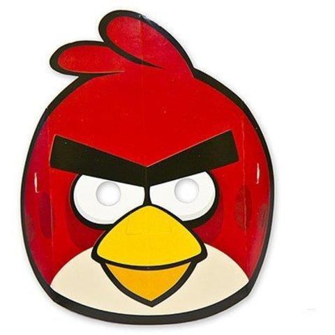 Маска Angry Birds бум 8шт/A