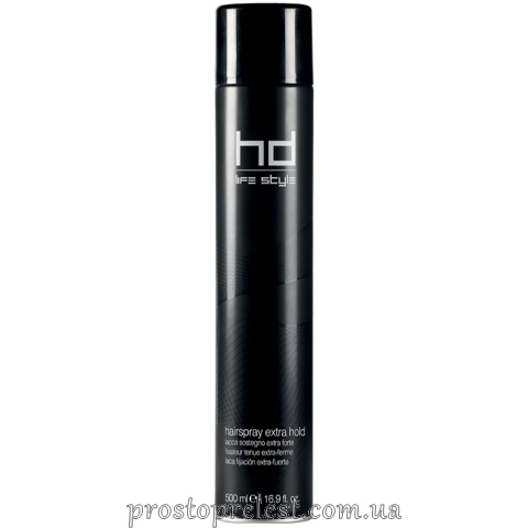 Farmavita HD Hair Spray Extra Hold - Лак для волосся екстрасильної фіксації