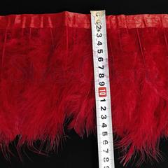 Купить оптом перья Марабу на ленте красные Light Siam в интернет-магазине