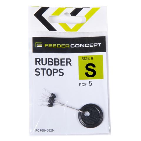 Стопоры резиновые Feeder Concept RUBBER STOPS, размер S, 5шт.