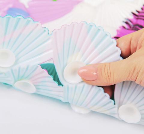Противоскользящий коврик для ванны