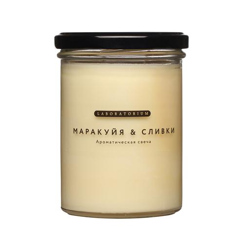 Ароматическая свеча (маракуйя сливки), 380 мл.