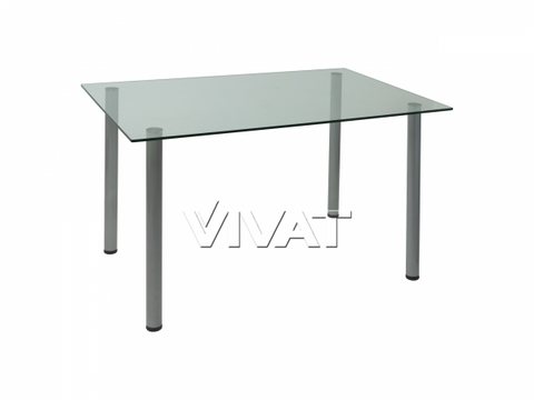 Стол обеденный прямоугольный Assen Прозрачный