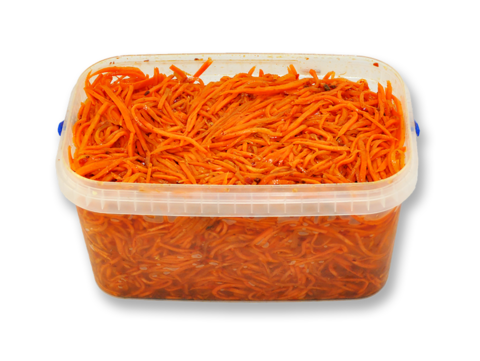 Морковь Ча по-корейски острая
