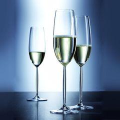 Набор фужеров для шампанского 220 мл, 6 шт, Diva, фото 4