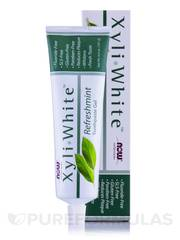 Diş pastası \ Зубная паста Now Foods, Solutions, XyliWhite, Toothpaste Gel, Refreshmint, 6.4 oz (181 g)