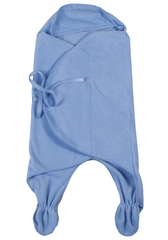 Чудо-Чадо. Конверт-одеяло БыстрОдежка Эльф флисовый голубой вид 4