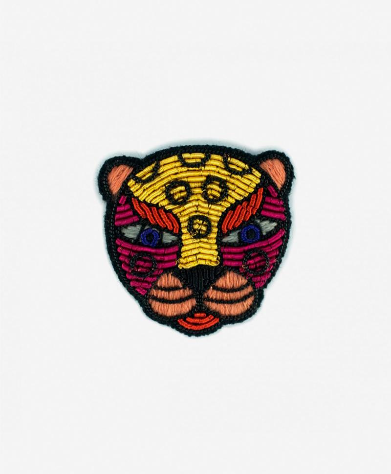 Брошь Funky Leopard