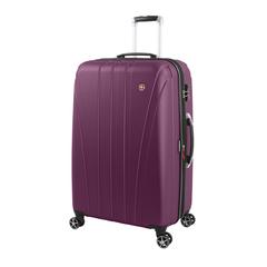 Чемодан Swissgear Tallac, фиолетовый, 52x31,5x78 см, 97 л