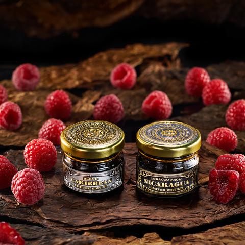 Табак WTO Caribbean Blend Raspberry (ВТО Карибский Бленд Малина) 20 г