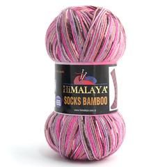 Socks bamboo HiMALAYA  (50%  шерсть мериноса superwash, 25% бамбук, 25% полиамид, 100гр/400м)