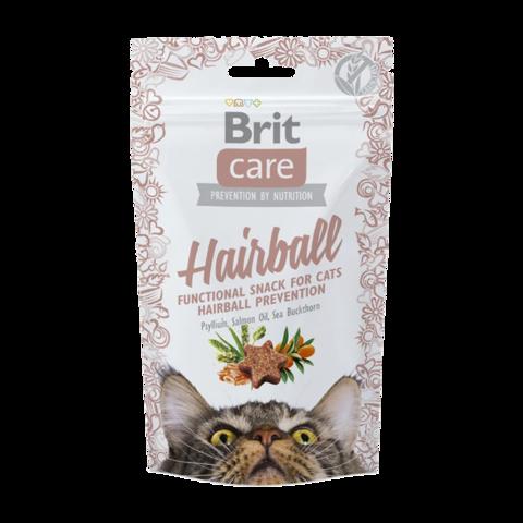Brit Care Hairball Лакомство для кошек для вывода комков шерсти