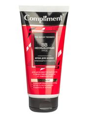 Compliment Pro-expert technics BB НЕСМЫВАЕМЫЙ УХОД крем для волос Термозащита и гладкость