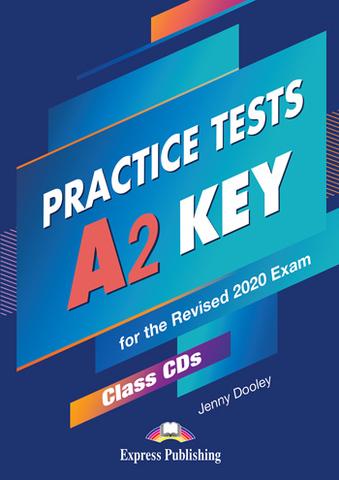 A2 Key Practice Tests - Class CDs (set of 5) - комплект дисков с аудированием