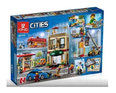 Конструктор King Cities 02114 Столица