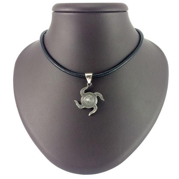 Кулоны из серебра Символ Свати кулон svatil-serebryanaya-1.jpg