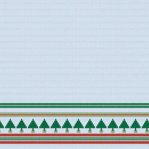 Бумага «Рождественские ёлки»