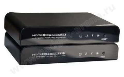 Конвертер-удлинитель HDMI сигнала по оптоволоконному кабелю с ИК-функцией Mobidick VLC3ET78F