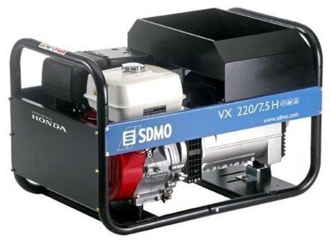 Кожух для бензиновой электростанции SDMO VX220/7.5H C